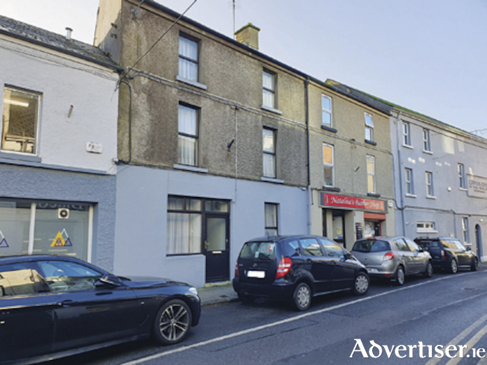 A mixed use property, 31 Mardyke Street, will be offered at bids over €110,000 via the Oates Auctioneers online auction on February 11