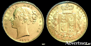 It is suggested that the gold coins that went down with the PS Connaught, are Victoria Shield sovereigns and half-sovereigns, and are of particular value to collectors.