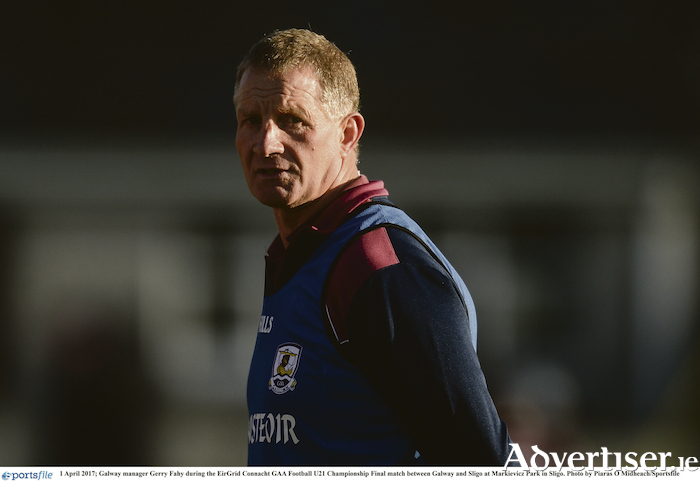 New Galway Ladies Football manager Gerry Fahy.