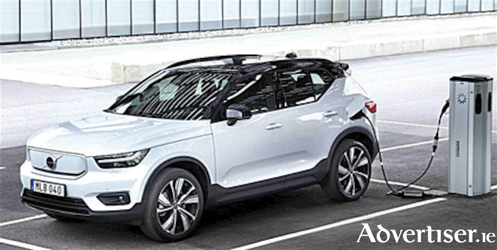 All new electric Volvo XC40