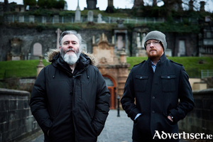 Arab Strap are Aidan Moffat (left) and Malcolm Middleton. Photo:- Kat Gollack