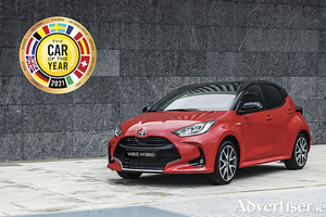 Toyota Yaris is the European Car of the Year for 2021.
