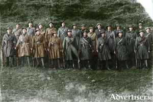 The West Connemara IRA Flying Squad, photographed in 1920/1921.