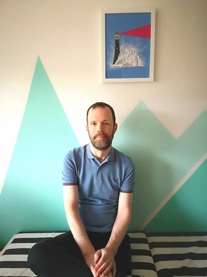 Ballyhaunis artist Séamas Lundon, one of more than 1,200 artists taking part in this year's Incognito online art sale in which the identity of the artists behind 3,000 pieces of original art is kept top secret until the sale closes.