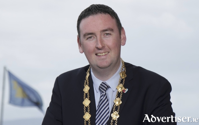 The Mayor of Galway, Cllr Mike Cubbard. Photo:- Mike Shaughnessy