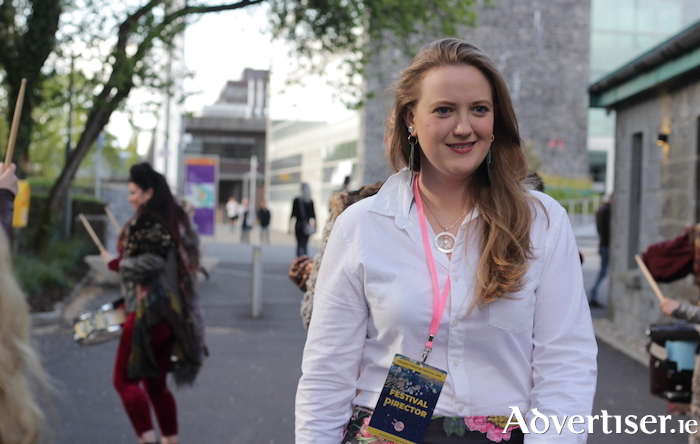 Galway Theatre Festival director, Sorcha Keane. Photo:- Laura Sheehan