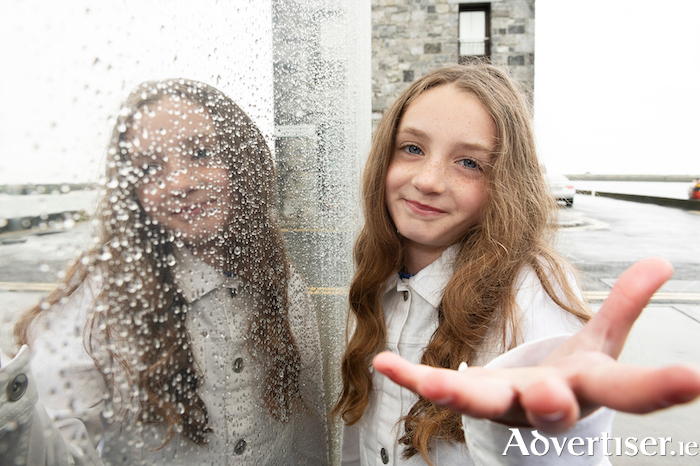 Miah Reddan, making the handover of the European Capital of Culture title from Galway to three other European cities. Photo:- Andrew Downes xposure