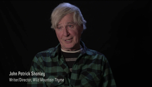 John Patrick Shanley, Writer/Director of Wild Mountain Thyme. Photo: Discover Ireland/YouTube