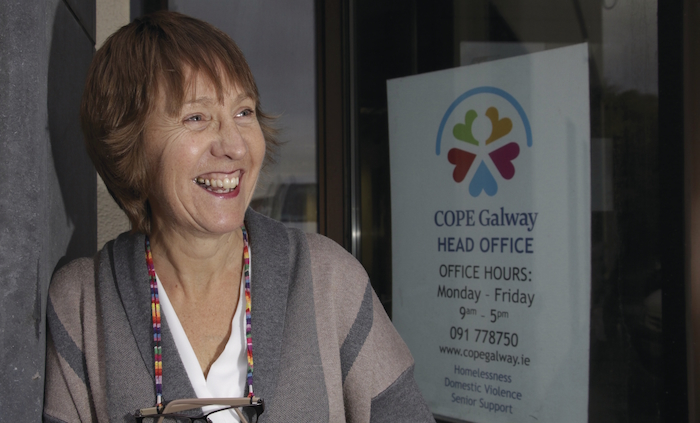 COPE Galway CEO Jacquie Horan smile