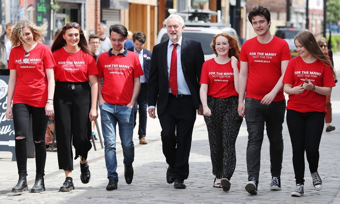 corbyn and youth