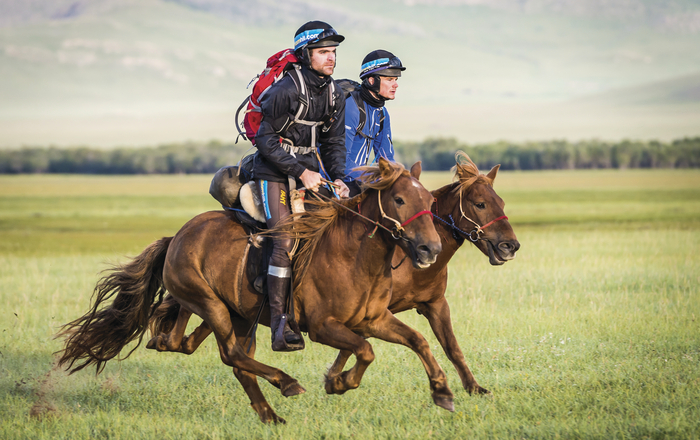 mongolia two riders