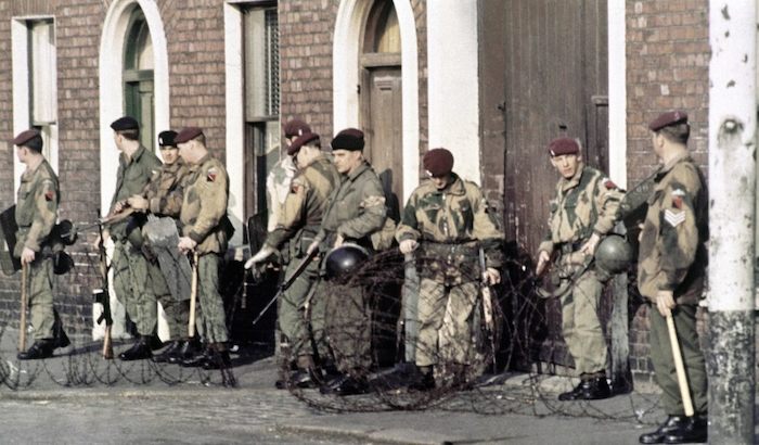 British army Northern Ireland