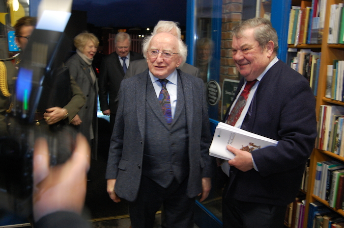 Michael D and Des Kenny