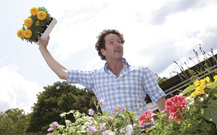 diarmuid flowers in the air