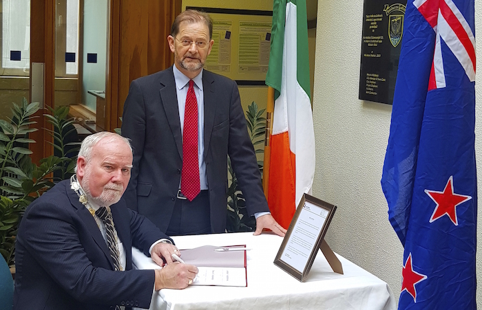 donal lyons book of condolence