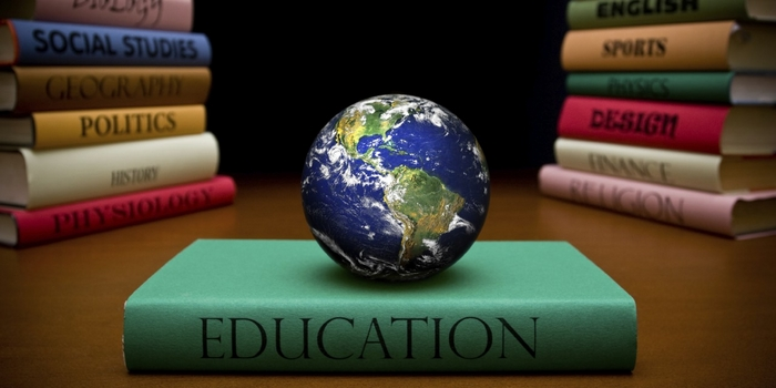 Education globe