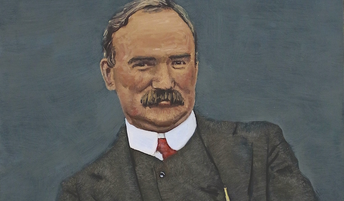 James Connolly painting