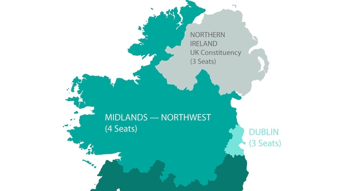 Map Of Ireland Midlands.Advertiser Ie Who Will Be Returned As Meps For Midlands North West