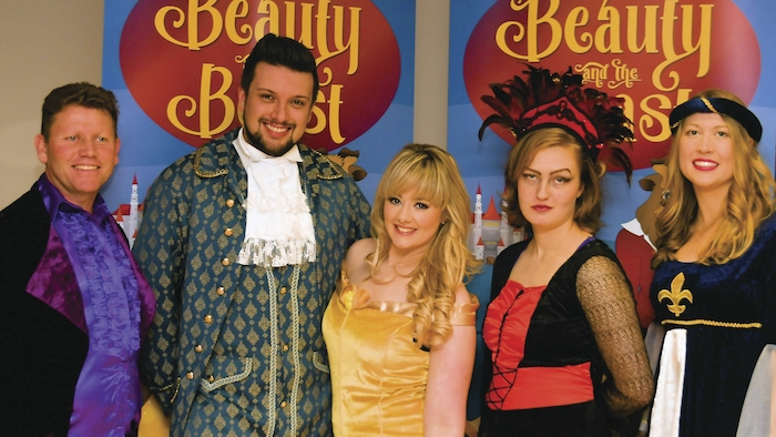 Renmore cast for panto