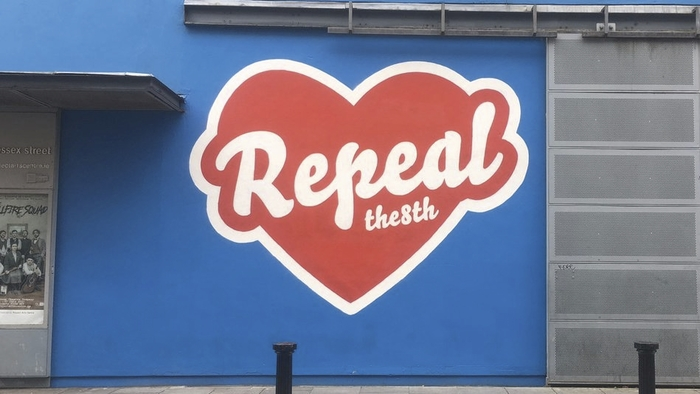 Repeal the 8th mural