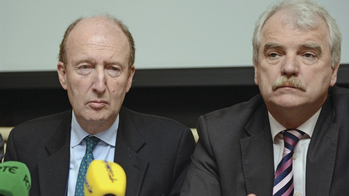 Shane Ross and Finian McGrath.