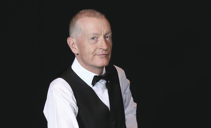 Steve Davis black background