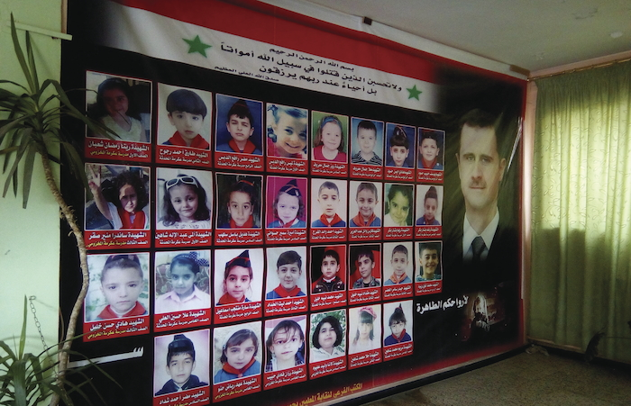 syrian murderd children