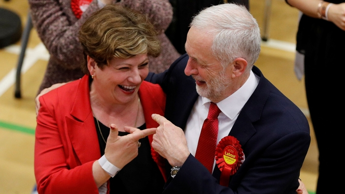 corbyn and thornberry