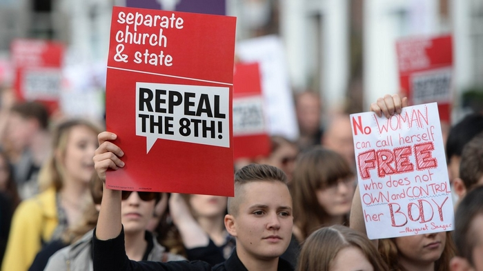 repeal 8th protest dublin
