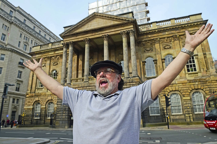 ricky tomlinson town hall