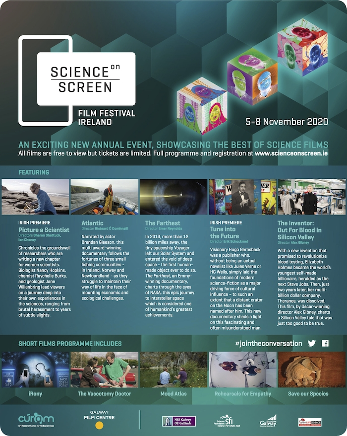 Science on Screen  Film Festival Programme