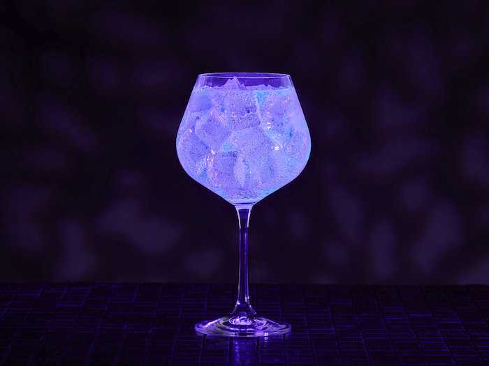 Gin Glowing Cocktail