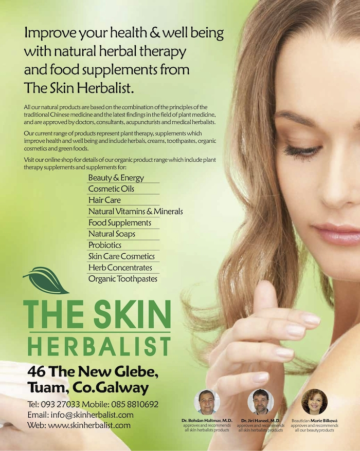 Advertiser ie - The Skin Herbalist - FREE SHIPPING FEBRUARY!